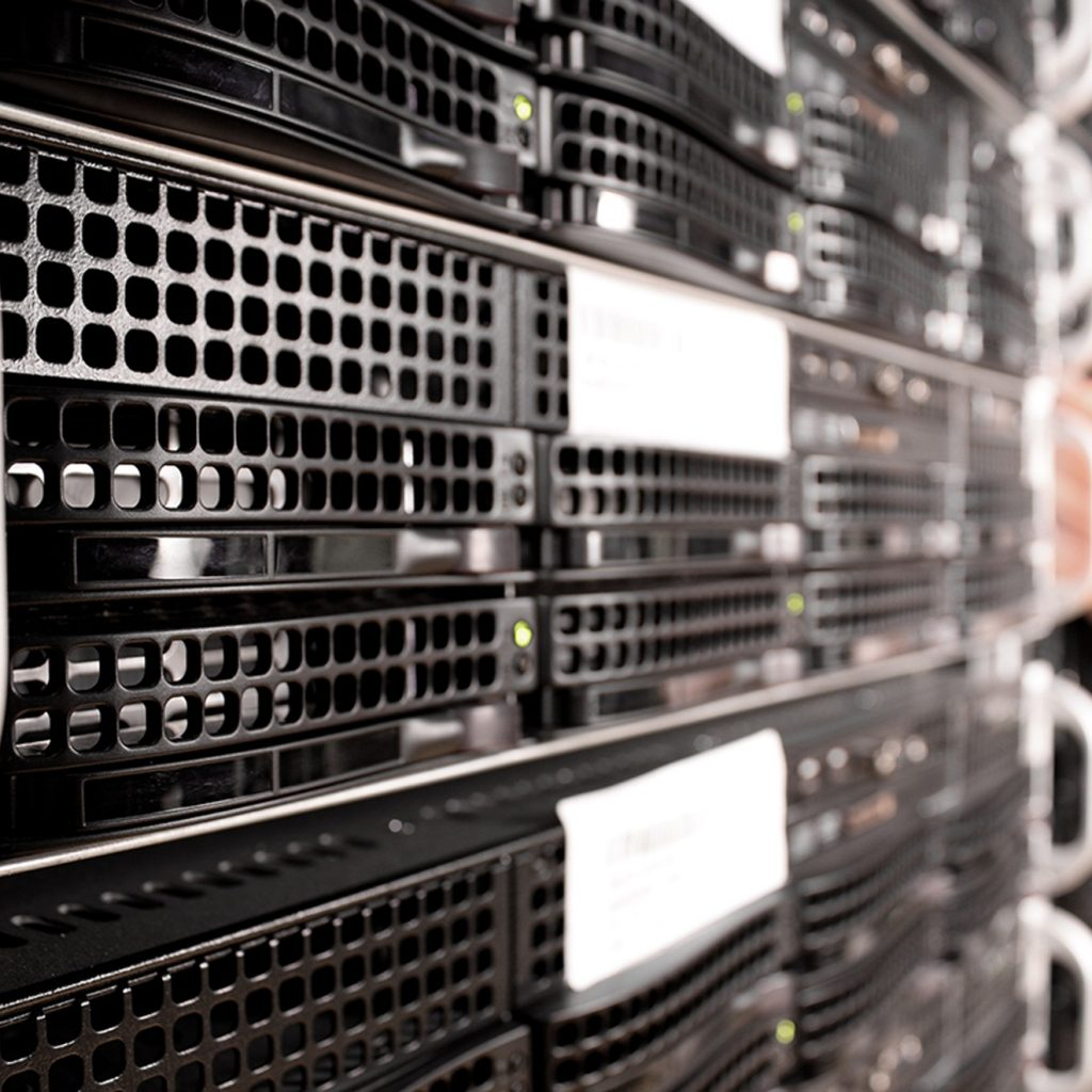fysieke variant op een virtual private server